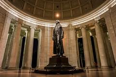 President Jefferson (soomness) Tags: memorial monument washingtondc washington dc sony zeiss batis225 batis interior design architecture lights lighting a7m2 sonya7m2 sonya7ii