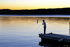 Boy Fishing, Ephraim (rjseg1) Tags: doorcounty fishing ephraim