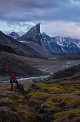 The Onlooker (arturstanisz1) Tags: baffinisland arturstanisz arctic canada canadianarctic mountthor mountains mountain auyuittug parks