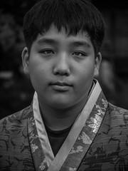 Prince of Jeonju (xihuchris) Tags: south korea asia lumix mu43 street portrait people black white monochrome g6 45mm 28 macro