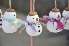 Needle felted snowman ornament (noristudio3o) Tags: needle felted snowman ornament snowmen christmas handmade makermoement etsyfinds etsyseller holiday gift home decor kawaii