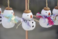 Needle felted snowman ornament (noristudio3o) Tags: needle felted snowman ornament snowmen christmas handmade makermoement etsyfinds etsyseller holiday gift home decor kawaii