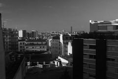Les toits de Paris (Meculda) Tags: toits monochrome paris ciel paysage