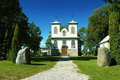 Saldutikio v. Prancikaus Asyieio banyia (CarolineKarolyteaPhotography) Tags: church sky europe lithuania lietuva saldutikis travel summer landscape wooden