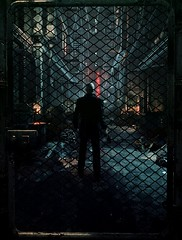 Hitman: Absolution (ConnecteD\_) Tags: hitman absolution agent 47 io interactive screenshot night rain metal grill