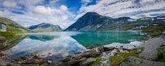 Norway Mirror #2 (Nycee4) Tags: norway fjord water sky hdr travel blue lake djupvatnet panorama moutains landscape nature