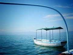 Macedoni, Lake Ohrid (ralamberts) Tags: birds seagulls boat nature idyllic ohrid lake macedonia fyromisnotmacedonia