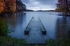 (amirosphere) Tags: k5 pentaxart pentax justpentax sigma1835mmf18 longexposure delsj lake autumn colors