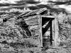 Oct 20 2016 - Root cellar long since abandoned B&W (lazy_photog) Tags: lazy photog elliott photography worland wyoming nowater creek big horn basin fall 102016nowaterslabrootcellars