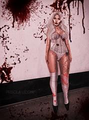 Bloody Mary! (Priscila Ledger) Tags: bloody mary halloween new item lingerie emporium rama pumec blackhaus slink tmp maitreya lara physique