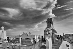 La Pedrera Rooftop (cango_uk) Tags: lapedrera barcelona spain catalonia gaudi casamil