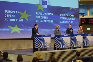 Federica Mogherini and the European Commission present the European Defence Action Plan (EDAP)