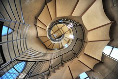 Basilika Sagrado Corazon de Jesus de Tibidabo (PIP) (8aleks8) Tags: treppe wendeltreppe barcelona architektur spanien