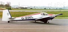 G-BSEL Slingsby T.61G Falke c/n 1986 (eLaReF) Tags: kemble england unitedkingdom gbsel slingsby t61g falke cn 1986