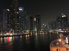 Dubai Marina (Sarina-chan) Tags: dubai marina emirates emiratiarabi night lights