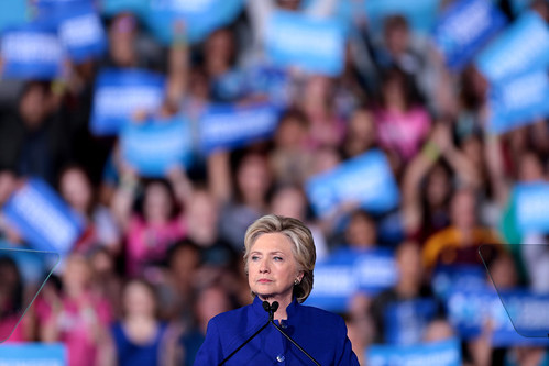 Hillary Clinton by Gage Skidmore, on Flickr