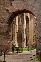 Terme di Caracalla (Youenn Morvan) Tags: thermesdecaracalla caracalla romanworld ruins antiquity rome roma romanempire terme thermes