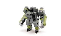 TU-A1 Armored Fighting Frame (Deltassius) Tags: lego space scifi frame mech mecha robot tank war military mfz mf0 microscale