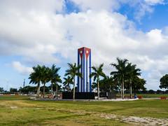 Cuban Memorial (fiu) Tags: cuban memorial fiu cuba flag