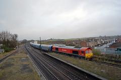 66118 (Fat Bastard Photography) Tags: 66118 6h77 immingham biomass drax power station heading through platform 4 barnetby