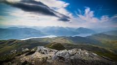 The Summit Of Ben Lomond (Gilmour-Photography) Tags: trossachs loch lochlomond benlomond summit scotland mountains hills scottishhighlands scottishtourism scottishhills nikond810 samyang14mm gilmourphotography kevingilmour nationaltrust nationaltrustforscotland trek samyang 14mm