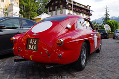 Ferrari 212 Inter Berlinetta Touring (Andrea the sleeper) Tags: carrozzeria touring superleggera coppa doro delle dolomiti cortina dampezzo italy italia veneto venice ferrari red horse cavallino rampante giallo rosso blu classic car cars race racecar unique oldtimer coachwork petrolicious automotive aci asi classico classica goodwood festival revival 15
