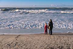 Watching the Waves (Poul_Werner) Tags: danmark denmark familie klegod 53mm beach dune family hav klit ocean sea sollys strand sunlight ringkbing centraldenmarkregion dk