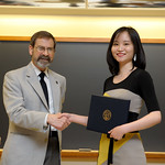 Associate Professor Robert Wickesberg, Yuqi Yao: Distinction in Psychology