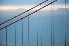 Marin Headlands (priscellie) Tags: sanfrancisco goldengate goldengatebridge california bridge clouds cloudy sunrise marinheadlands