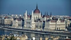 Parliament Building. Last winter. Budapest (Al Sanin) Tags: hungary budapest parliament building