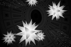 DSC03207 (Kyle Becker) Tags: lights ceiling christmas star dome