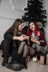 IMG_0195 (rodinaat) Tags: new year happy holiday tree christmas skull goat satan brutal metal metalhead longhaie redhair red black