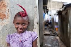Style (Miro May) Tags: africa kenya nairobi mathare slum child girl childhood hair hairstyle joy fun happy smile portrait