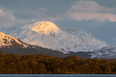 A' Chrois (dalejckelly) Tags: canon scotland visitscotland scottish winter mountain lochlomond trossachs snow mountains hill hills sunrise rosspriory 7dmarkii outdoor 70300l landscape nature munro benvane achrois arrocharalps