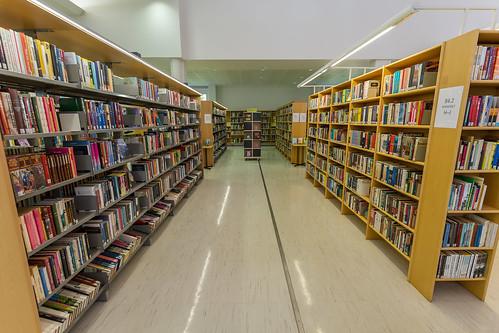 Haminan kaupunginkirjasto / Hamina City Library