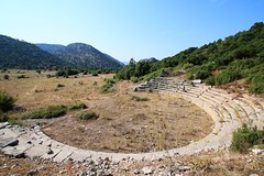 exposed theater (mdoughty68) Tags: turkey ancient ruins theater roman turkiye historical adada