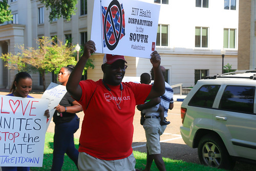 'Take It Down!' Confederate Flag Protest