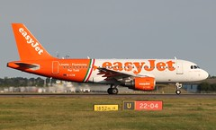 G-EZIW Airbus A319-111 Easyjet Per Tutti (R.K.C. Photography) Tags: uk england italian aircraft airbus essex easyjet airliners fiumicino stn linate a319 pertutti logojet a319111 londonstanstedairport eggw geziw canoneos1100d