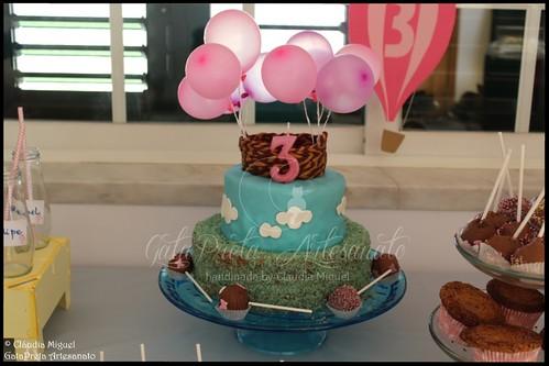 Festa do 3º aniversário da Madalena: Balões de Ar Quente