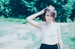 (Berill Sándor Photography) Tags: summer woman film me photography photo analogue 2015