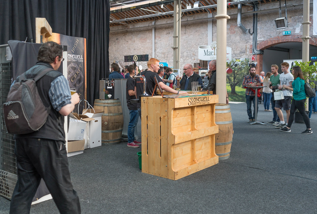 IRISH CRAFT BEER FESTIVAL IN THE RDS LAST WEEKEND IN AUGUST 2015 [STONEWELL] REF-107277