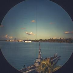 Up Periscope (JimmyKastner) Tags: wedding summer arizona tower ford landscape island hawaii polynesia memorial honeymoon oahu united navy east missouri pearl states loch base uss joint groups periscope bowfin oceania bb63 ss287 harborhickam