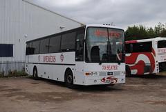 McEwens, Mansfield (Hesterjenna Photography) Tags: n439xdv mcewens mansfield vanhool vovlo b10m coach bus psv depot