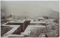 Supposed sepulchre near Mitla (SMU Central University Libraries) Tags: buildings de ruins san pablo mosaics villa oaxaca walls tombs mitla