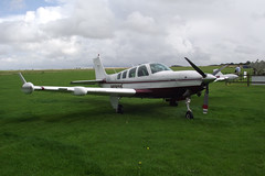 Beechcraft Beech A.36 Bonanza (Allison Turbine Conversion) N836TP (Old Buck Shots) Tags: allison conversion beechcraft turbine beech ip bonanza a36 egsv n836tp