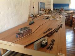 Riddersbrugge station in aanbouw - 2013 (Ignace Vanbiervliet) Tags: belgië ho treinen nmbs modelspoor modelbouw normaalspoor riddersbrugge