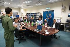 Visit of Panel to the Government Flying Service (2015.10.07) (www.legco.gov.hk) Tags: hanger gfs governmentflyingservice      honchungkwokpan    honipkwokhim drhonlamtaifai honchanchichuen   honngleungsing honmafungkwok honyiusiwing
