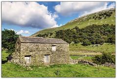 Field Barn at Muker (Digital Wanderings) Tags: stone rural countryside nationalpark peaceful northyorkshire dales yorkshiredales stonebarn swaledale fieldbarn muker rurallandscape