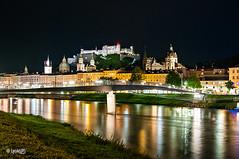 Night Salzburg (LenikLAS) Tags: alps salzburg castle austria sterreich nikon alpen tamron mozart alpy hrad burg rakousko leniklas d300s