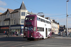 '711' Lytham Road 26th September 2015 (John Eyres) Tags: road is tour balloon reserve off lytham prom depot 711 coming fleet seen onto usually 260915